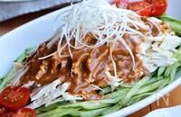 絶品♡我が家の棒棒鶏(バンバンジー)サラダ
