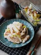 作り置きにも◎!やみつき「鶏むね肉と長ネギの中華風梅肉和え」