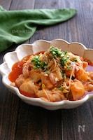 鶏肉と豆もやしのとろみキムチ煮