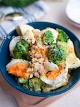 ダイエットにも♪『ゆで卵とブロッコリーのツナマヨサラダ♪』