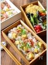 焼き鮭の薬味たっぷりちらし寿司