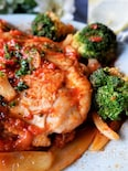 【オリーブオイル下味冷凍】チキンのトマト煮込み