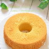米粉のふんわりシフォンケーキ♡