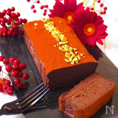豆腐de生チョコケーキ