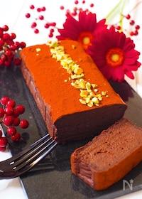 『豆腐de生チョコケーキ』