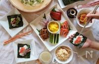 ハレの日に食べたい!身近な具材で作れる華やか手巻き寿司