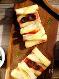 即できハロウィン☆ミイラ男の半立体ピザトースト!