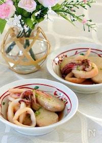 『ヤリイカと里芋の煮物』
