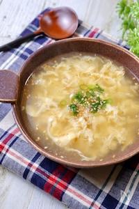 〇〇であの味♡超簡単!『焼肉屋さんの卵スープ』