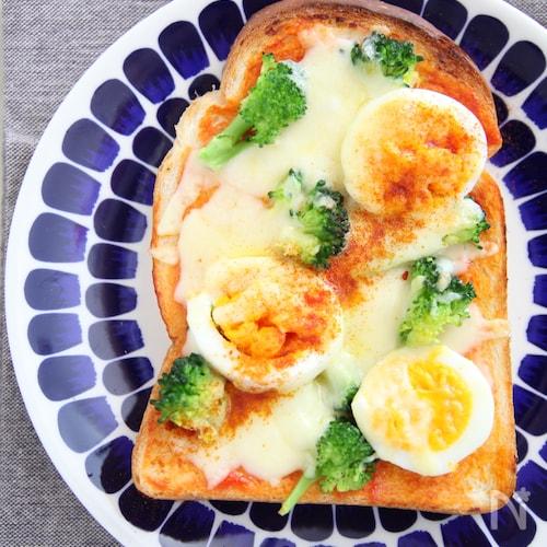 簡単絶品ピザトースト