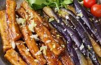 【肉なしでも大満足】厚揚げ豆腐と茄子のとろ旨黒酢炒め