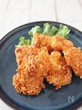 柿のたねカリカリ鶏むね肉フライ