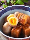 【厚揚げで豚の角煮風】厚揚げとゆで卵の角煮#作り置き#お弁当