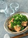 今が旬です!日本酒の肴に!*鮭の白子のぽん酢煮*