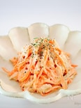 【和えるだけ】簡単♡無限に食べれる【ツナ&にんじんのサラダ】
