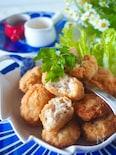 ひき肉・豆腐・えのき同量!ポリ袋で簡単ふわふわチキンナゲット