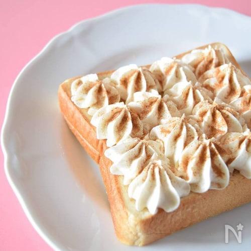シナモントースト 喫茶店メニューでおうちカフェ♪