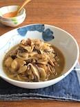ごはんがすすむスタミナおかず◎鶏肉ときのこの炒め煮