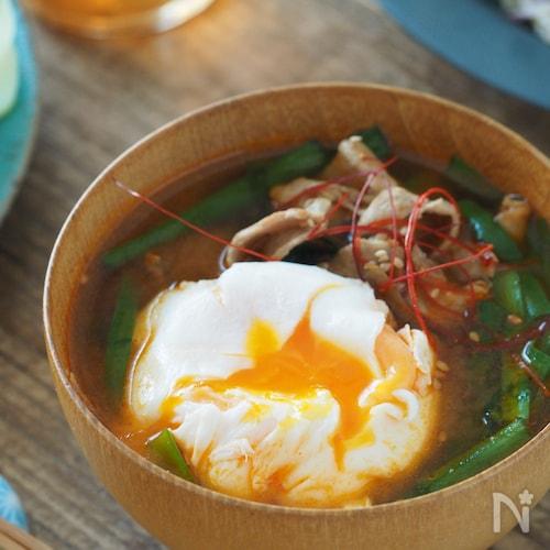 コチュジャンでご飯がススム!韓国風豚汁