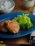 マッシュポテトの豚肉挟み焼き