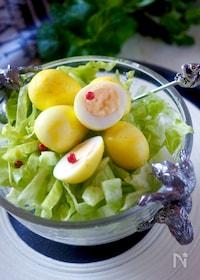 『【作り置き・お弁当】うずら卵のカレー漬け*失敗なし殻のむき方』