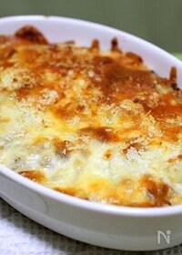 『コロッケ味のチーズパン粉焼き』