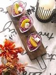 紫キャベツとオレンジのサラダ
