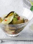 水ナスと夏野菜の水キムチ
