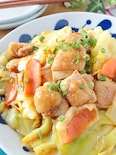 止まらない美味しさ*鶏もも肉と春キャベツのピリ辛味噌炒め