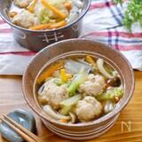 食べるメインスープおかず!『レモン香る鶏団子のおかずスープ』