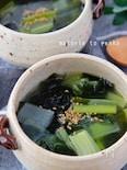 簡単!長ネギとわかめの春雨中華スープ