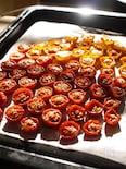 オーブンで♡自家製セミドライトマト