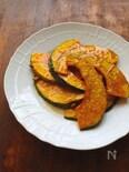 揚げかぼちゃの生姜メープルソース