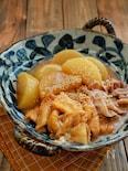 めんつゆで簡単!*大根と油揚げと豚肉とろみ煮*