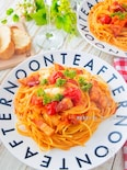 止まらない美味しさ!Wトマトとモッツァレラのアマトリチャーナ