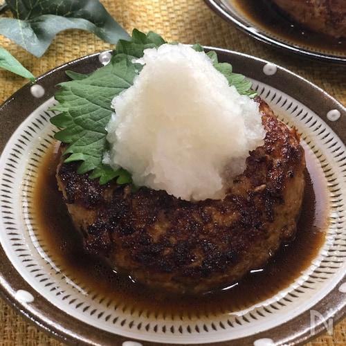 ふわふわ豆腐ハンバーグ~おろしポン酢ソース~