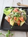 鮭と新じゃがのサラダ