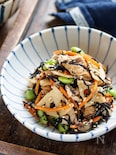 お豆腐とひじきの無水煮【#水切り不要#レンジ#コンビニ風】