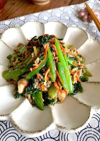 『【さば水煮缶の汁ごと野菜炒め】簡単!冷凍保存でお弁当にも』