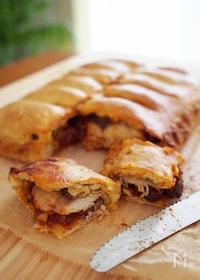 『サバとトマトソースのエンパナーダ(パイ包み焼き)』