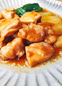 『レンジで10分♪鶏の照り焼き』