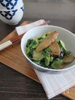 ヘルシー☆ごぼうとかぶの葉和風サラダ