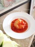 新玉ねぎのトマト煮
