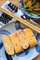 ご飯がすすむ♪絶対美味しい♪明太マヨと小ねぎのたまご焼き♪