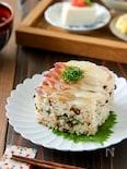 鯛の昆布締め押し寿司