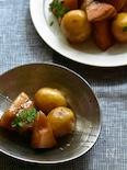 STAUB de 新じゃがと筍と豚バラの柔らか煮