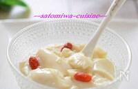 ふるふる~♬仕込み5分の簡単デザート☆ぷるぷる杏仁豆腐♪