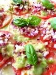 ダブルトマトで トマトのカルパッチョ