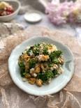混ぜるだけで簡単!春の香りの菜の花と炒り卵の混ぜご飯