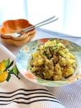 簡単絶品♡鶏ひき肉と塩昆布のポテトサラダ